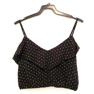 Tops - 2/$10 Dotted Crop Cami